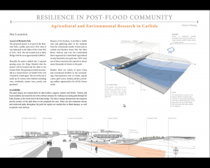 post flood community